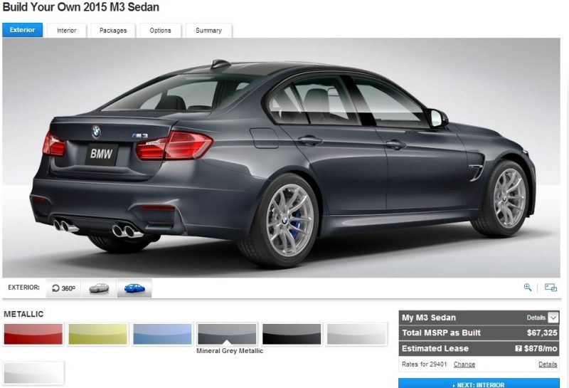 Car-Revs-Daily.com Builds 2015 BMW M3 11
