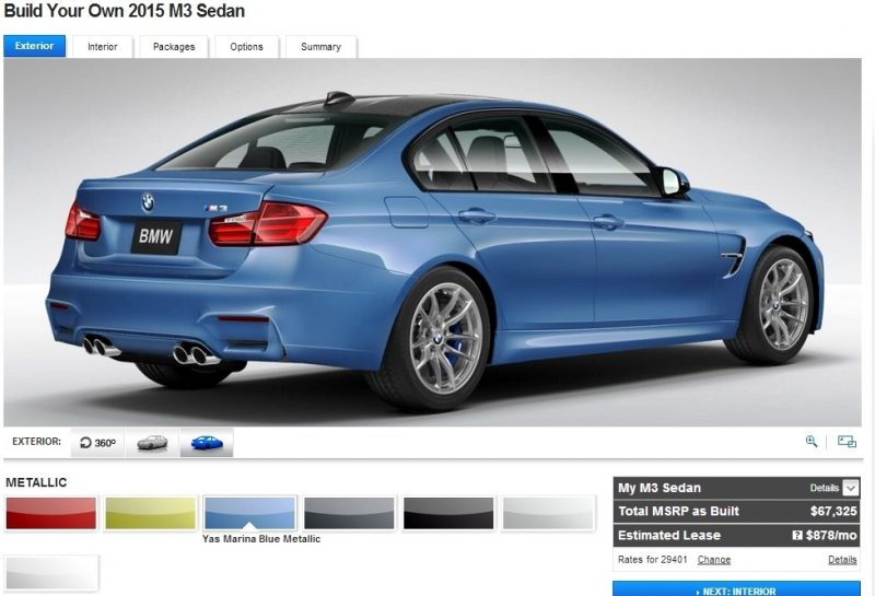Car-Revs-Daily.com Builds 2015 BMW M3 12