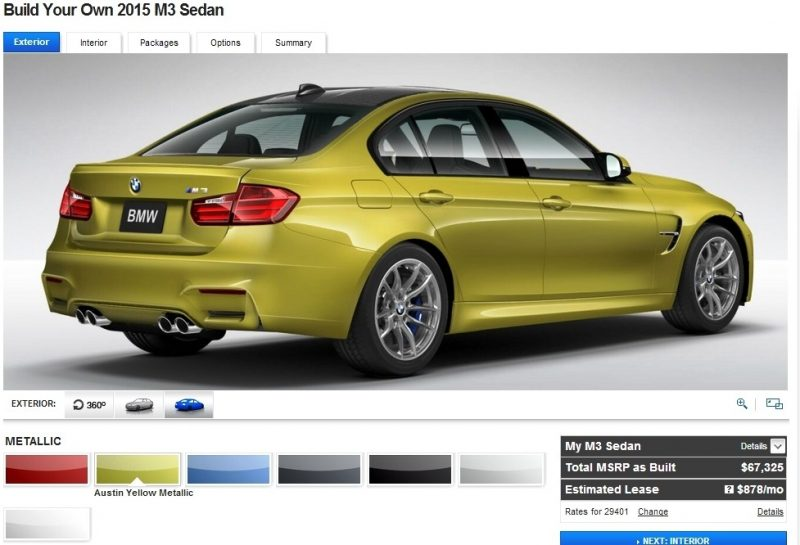 Car-Revs-Daily.com Builds 2015 BMW M3 13