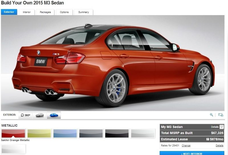 Car-Revs-Daily.com Builds 2015 BMW M3 14