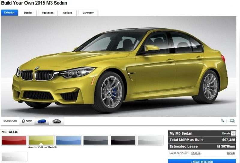 Car-Revs-Daily.com Builds 2015 BMW M3 2