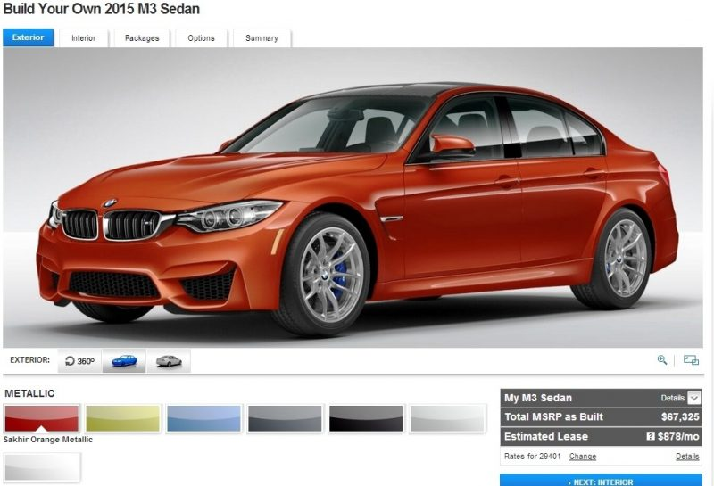 Car-Revs-Daily.com Builds 2015 BMW M3 3
