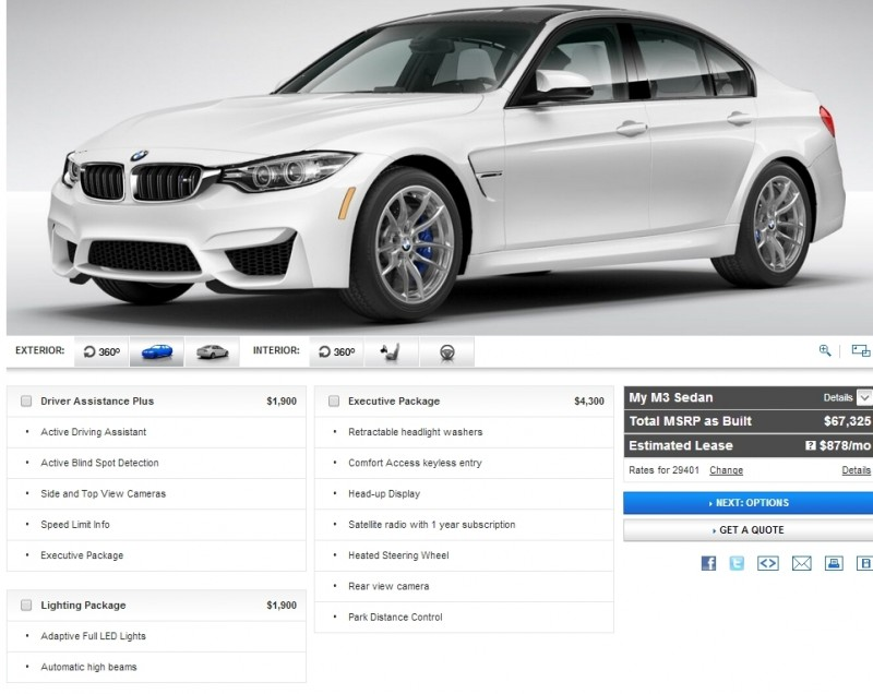 Car-Revs-Daily.com Builds 2015 BMW M3 30