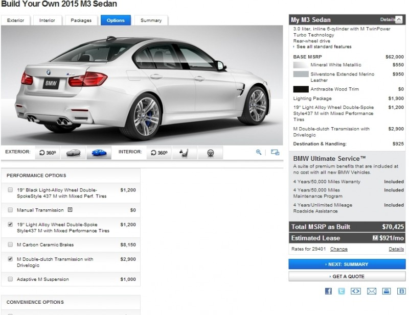 Car-Revs-Daily.com Builds 2015 BMW M3 33