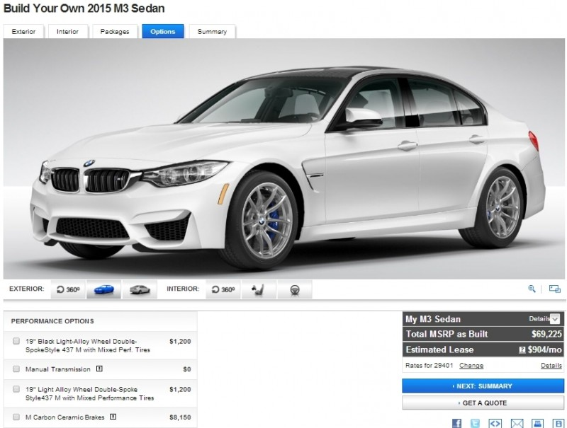Car-Revs-Daily.com Builds 2015 BMW M3 34