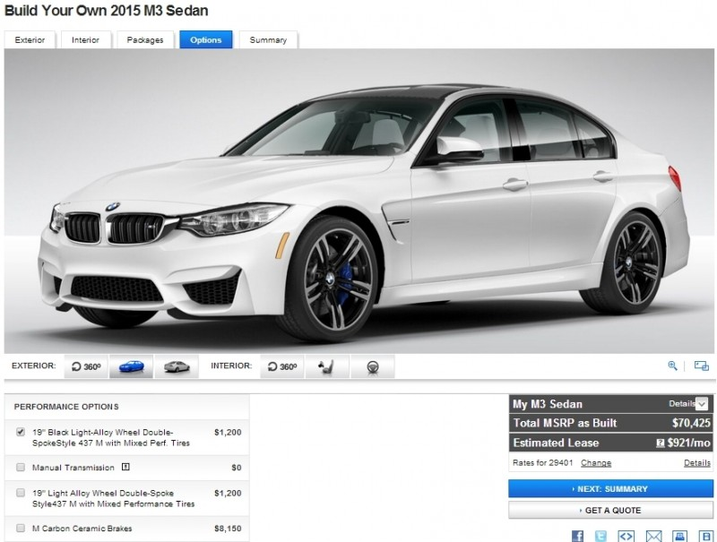 Car-Revs-Daily.com Builds 2015 BMW M3 35