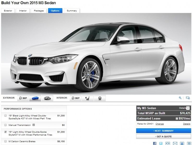 Car-Revs-Daily.com Builds 2015 BMW M3 36