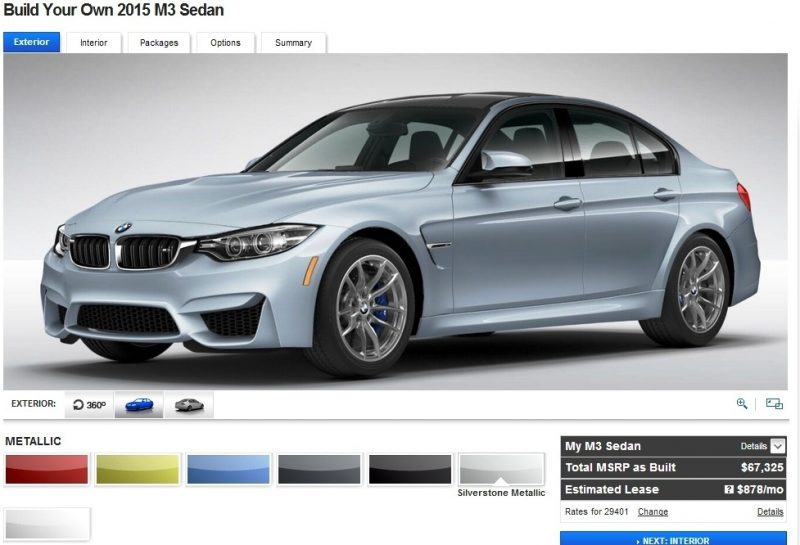Car-Revs-Daily.com Builds 2015 BMW M3 5