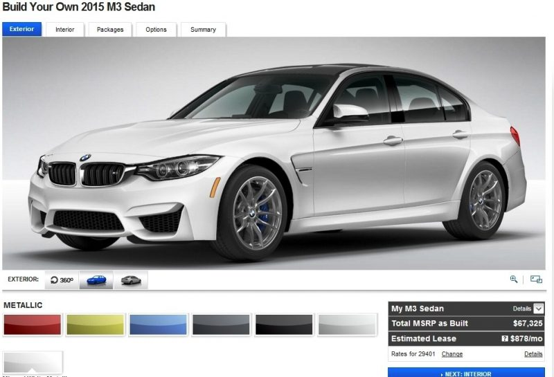 Car-Revs-Daily.com Builds 2015 BMW M3 7