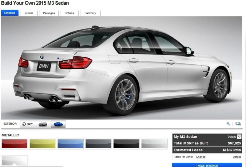 Car-Revs-Daily.com Builds 2015 BMW M3 8