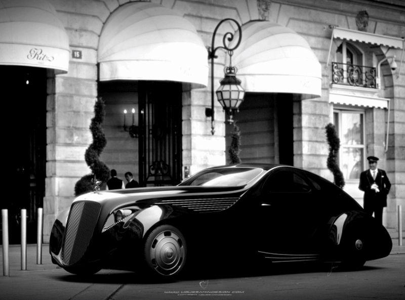 Car-Revs-Daily.com Ugur Sahin Designs 2014 RR Round Door Coupe GIF1