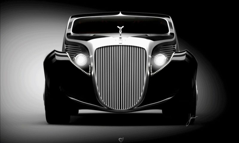 Car-Revs-Daily.com Ugur Sahin Designs 2014 RR Round Door Coupe GIF2