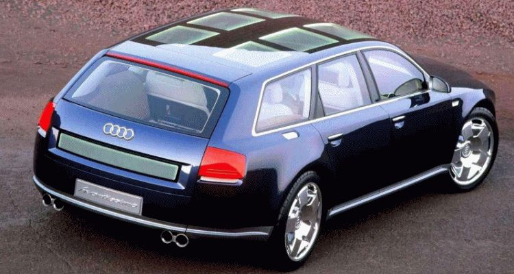 Concept Flashback - 2001 Audi Avantissmo is A8 Dreamwagon