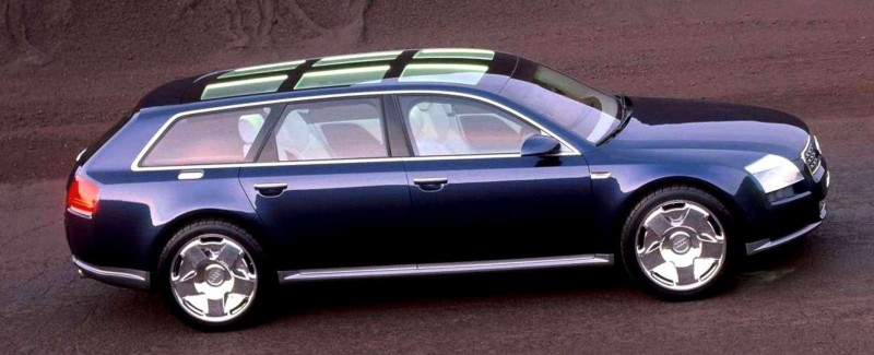 Concept Flashback - 2001 Audi Avantissmo is A8 Dreamwagon... Directly Influenced 2015 Bentley Falcon SUV 11