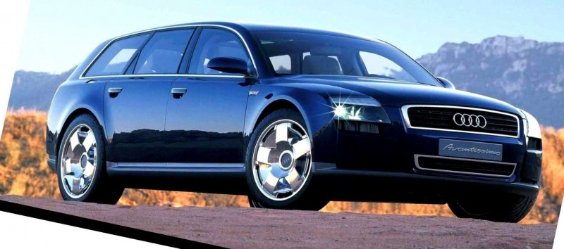 Concept Flashback - 2001 Audi Avantissmo is A8 Dreamwagon... Directly Influenced 2015 Bentley Falcon SUV 1