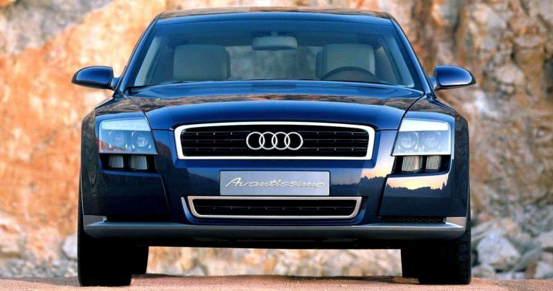 Concept Flashback - 2001 Audi Avantissmo is A8 Dreamwagon... Directly Influenced 2015 Bentley Falcon SUV 12
