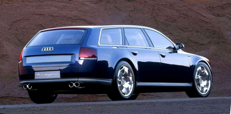 Concept Flashback - 2001 Audi Avantissmo is A8 Dreamwagon... Directly Influenced 2015 Bentley Falcon SUV 13