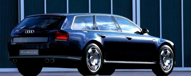 Concept Flashback - 2001 Audi Avantissmo is A8 Dreamwagon... Directly Influenced 2015 Bentley Falcon SUV 14