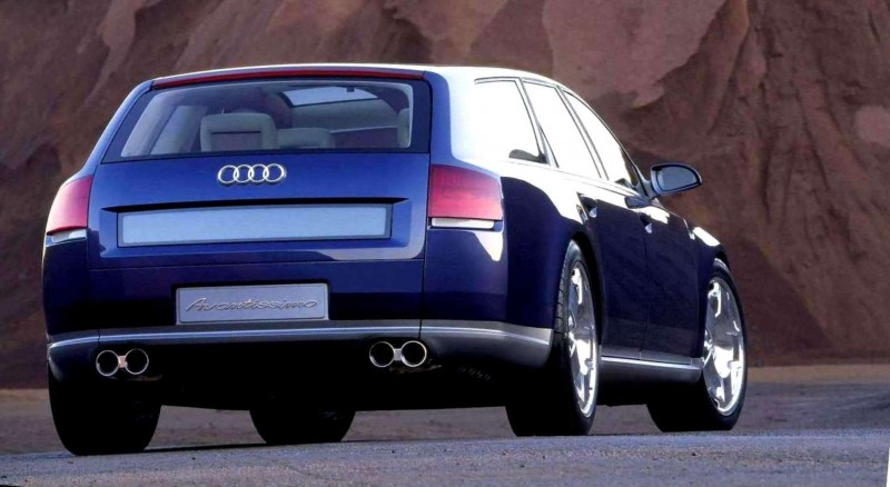 Concept Flashback - 2001 Audi Avantissmo is A8 Dreamwagon... Directly Influenced 2015 Bentley Falcon SUV 15