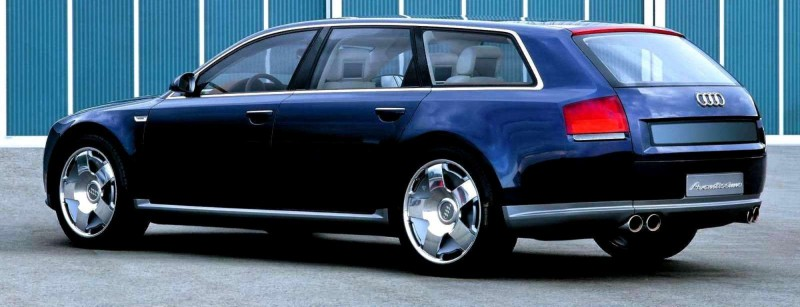 Concept Flashback - 2001 Audi Avantissmo is A8 Dreamwagon... Directly Influenced 2015 Bentley Falcon SUV 17