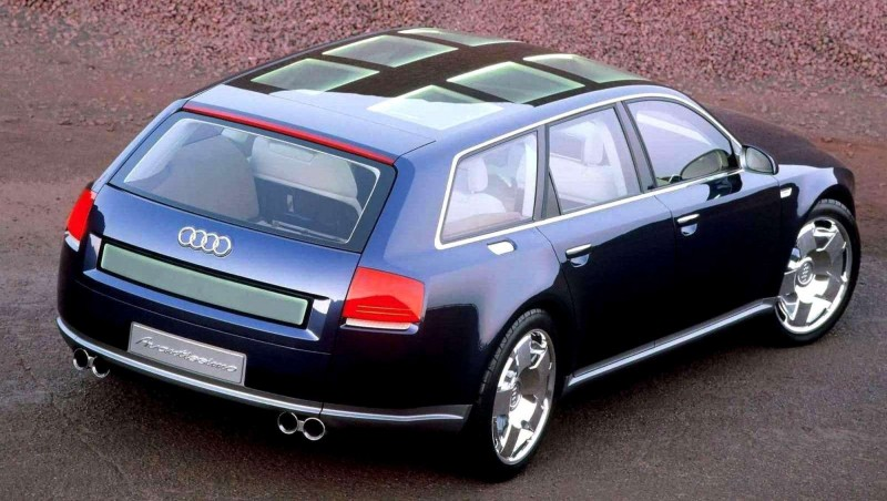 Concept Flashback - 2001 Audi Avantissmo is A8 Dreamwagon... Directly Influenced 2015 Bentley Falcon SUV 18