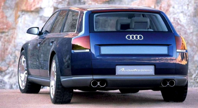 Concept Flashback - 2001 Audi Avantissmo is A8 Dreamwagon... Directly Influenced 2015 Bentley Falcon SUV 19