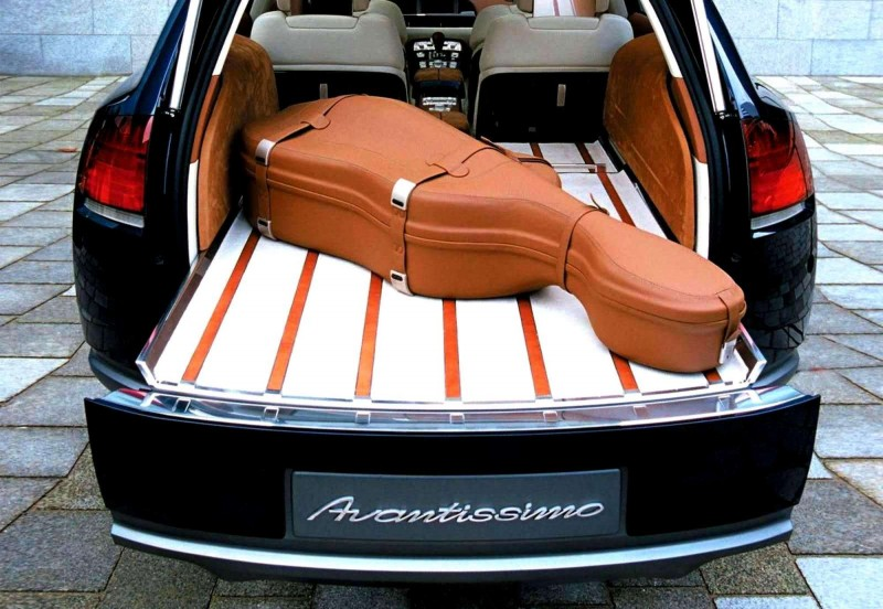 Concept Flashback - 2001 Audi Avantissmo is A8 Dreamwagon... Directly Influenced 2015 Bentley Falcon SUV 25