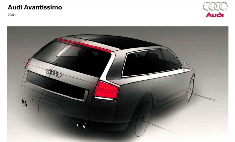 Concept Flashback - 2001 Audi Avantissmo is A8 Dreamwagon... Directly Influenced 2015 Bentley Falcon SUV 29