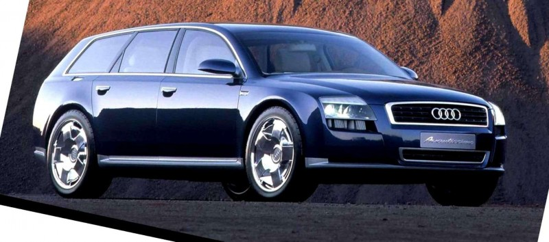 Concept Flashback - 2001 Audi Avantissmo is A8 Dreamwagon... Directly Influenced 2015 Bentley Falcon SUV 3