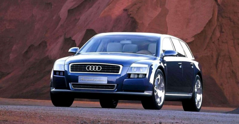 Concept Flashback - 2001 Audi Avantissmo is A8 Dreamwagon... Directly Influenced 2015 Bentley Falcon SUV 4