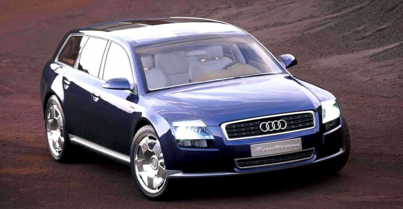 Concept Flashback - 2001 Audi Avantissmo is A8 Dreamwagon... Directly Influenced 2015 Bentley Falcon SUV 5
