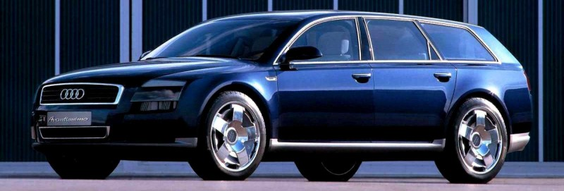 Concept Flashback - 2001 Audi Avantissmo is A8 Dreamwagon... Directly Influenced 2015 Bentley Falcon SUV 6