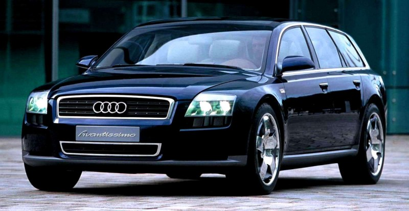 Concept Flashback - 2001 Audi Avantissmo is A8 Dreamwagon... Directly Influenced 2015 Bentley Falcon SUV 7