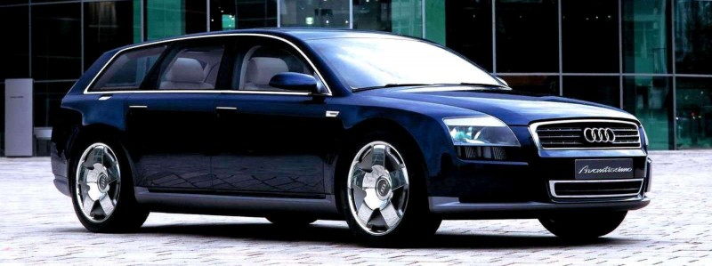 Concept Flashback - 2001 Audi Avantissmo is A8 Dreamwagon... Directly Influenced 2015 Bentley Falcon SUV 8