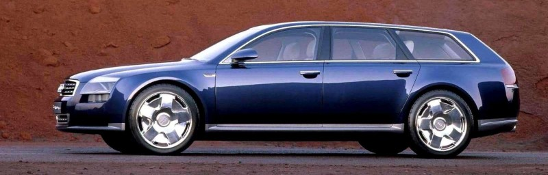Concept Flashback - 2001 Audi Avantissmo is A8 Dreamwagon... Directly Influenced 2015 Bentley Falcon SUV 9