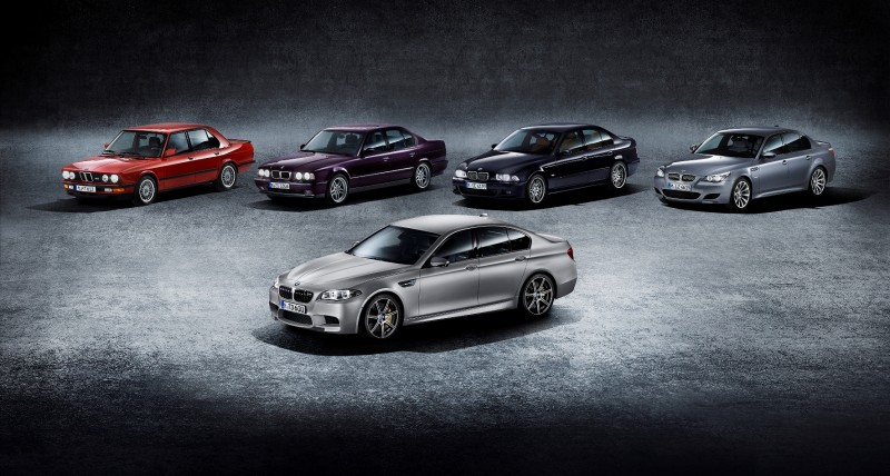 Gone in 3.7s - 30th Anniversary BMW M5 Adds 25 Horsepower, New Steering and New Active M Rear Diff 8