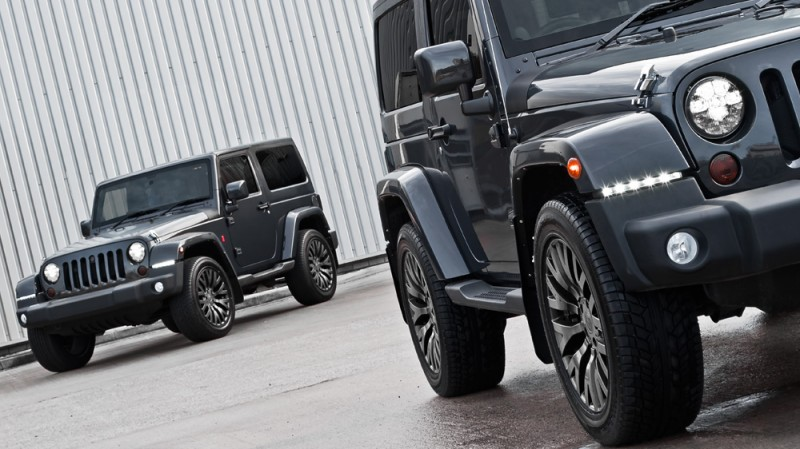 High-Fashion JEEP Upgrades - KAHN Design Shows Sexy New Wrangler Grilles, LEDs, Wheels and Leathers 10