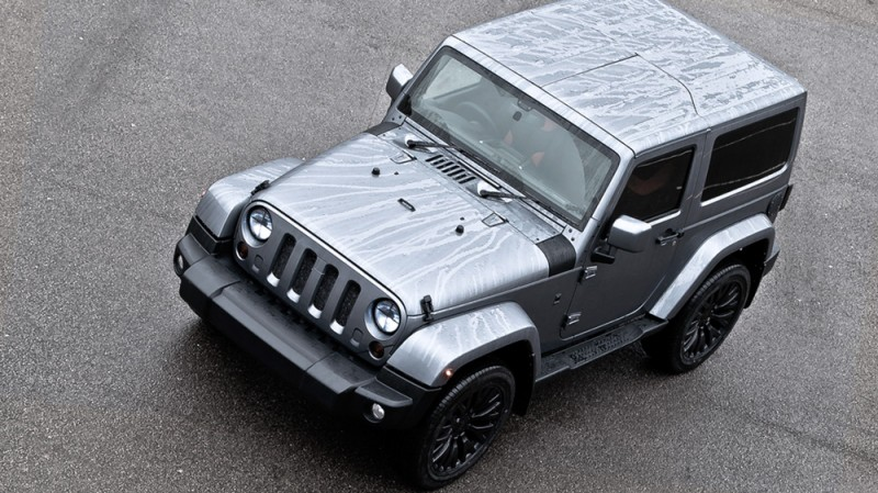 High-Fashion JEEP Upgrades - KAHN Design Shows Sexy New Wrangler Grilles, LEDs, Wheels and Leathers 12