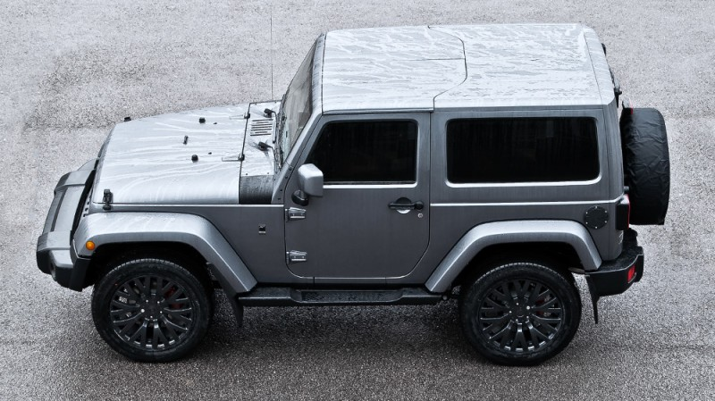 High-Fashion JEEP Upgrades - KAHN Design Shows Sexy New Wrangler Grilles, LEDs, Wheels and Leathers 13