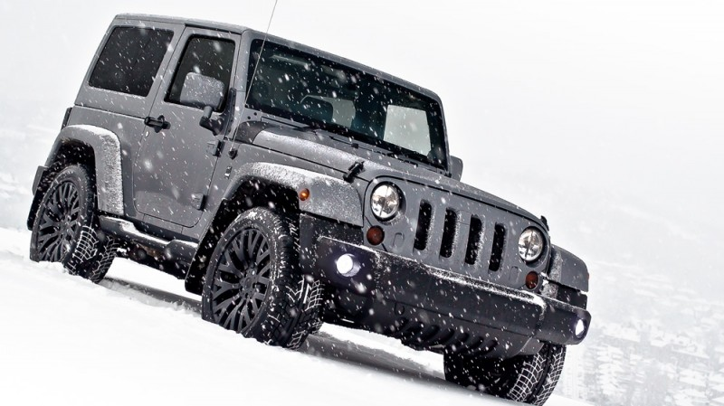 High-Fashion JEEP Upgrades - KAHN Design Shows Sexy New Wrangler Grilles, LEDs, Wheels and Leathers 17