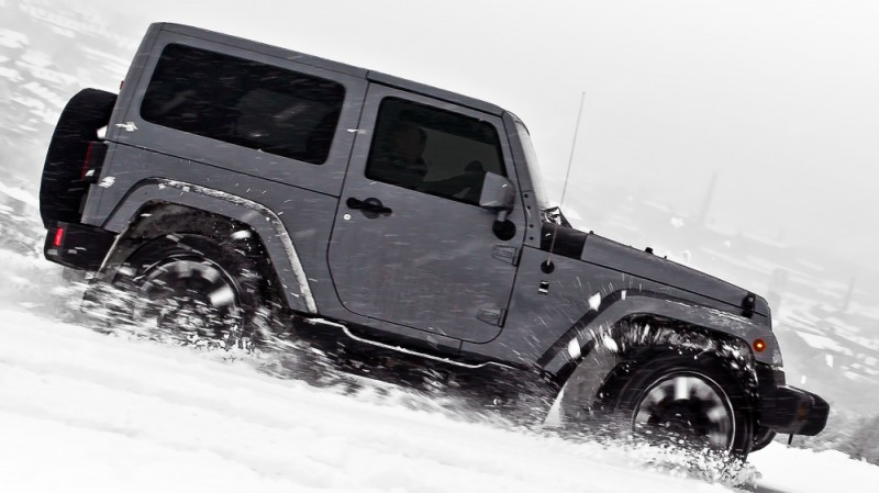 High-Fashion JEEP Upgrades - KAHN Design Shows Sexy New Wrangler Grilles, LEDs, Wheels and Leathers 20