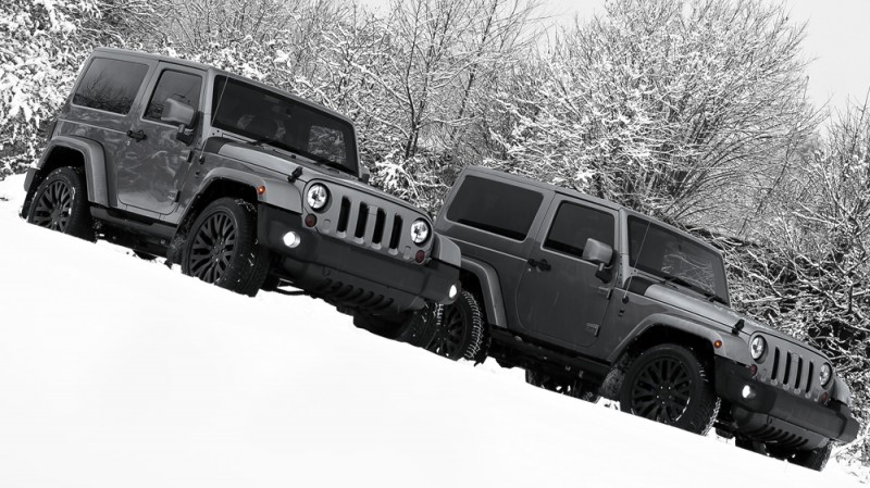 High-Fashion JEEP Upgrades - KAHN Design Shows Sexy New Wrangler Grilles, LEDs, Wheels and Leathers 21