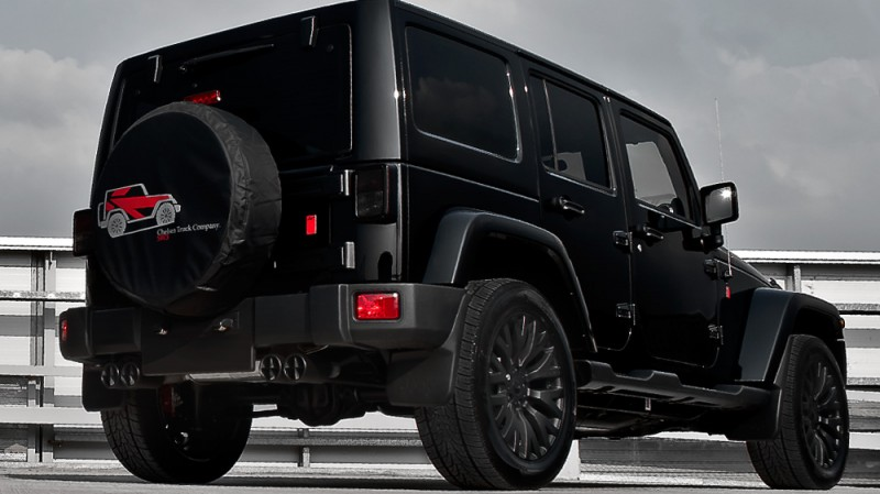 High-Fashion JEEP Upgrades - KAHN Design Shows Sexy New Wrangler Grilles, LEDs, Wheels and Leathers 4