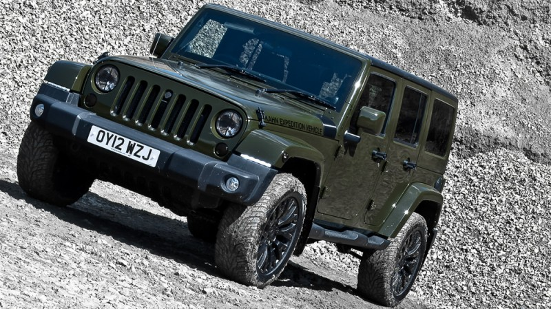 High-Fashion JEEP Upgrades - KAHN Design Shows Sexy New Wrangler Grilles, LEDs, Wheels and Leathers 44
