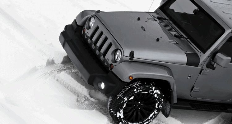 High-Fashion JEEP Upgrades - KAHN Design Shows Sexy New Wrangler Grilles, LEDs, Wheels and Leathers GIF