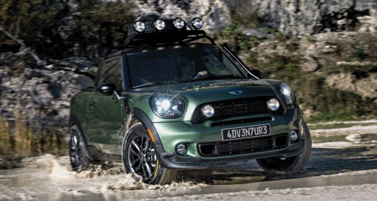 MINI Paceman Adventure Concept GIF1