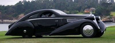 Peterson Auto Museum - 1925 Rolls-Royce Phantom I - 1934 Jonkheere Round Door Aero Coupe 13