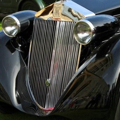 Peterson Auto Museum - 1925 Rolls-Royce Phantom I - 1934 Jonkheere Round Door Aero Coupe 21