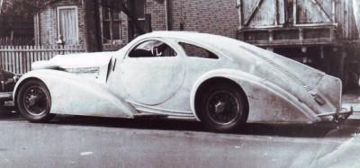 Peterson Auto Museum - 1925 Rolls-Royce Phantom I - 1934 Jonkheere Round Door Aero Coupe 3