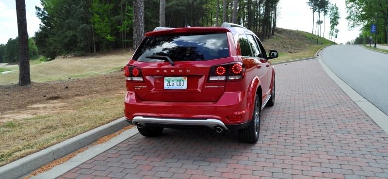 Road Test Review - 2014 Dodge Journey Crossroad - We Would Cross the Road to Avoid 15